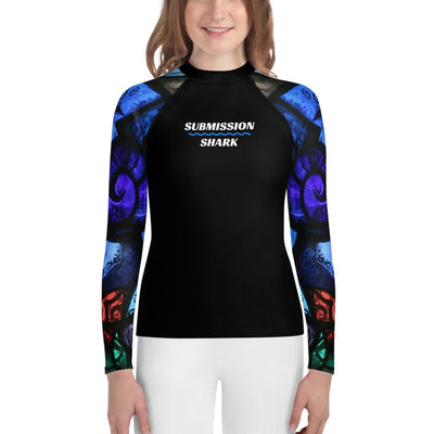 Spiritual Awakening - Unisex Youth Jiu Jitsu Rash Guard