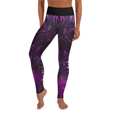 Lavender Paradise ~ High-Waist Purple BJJ Leggings