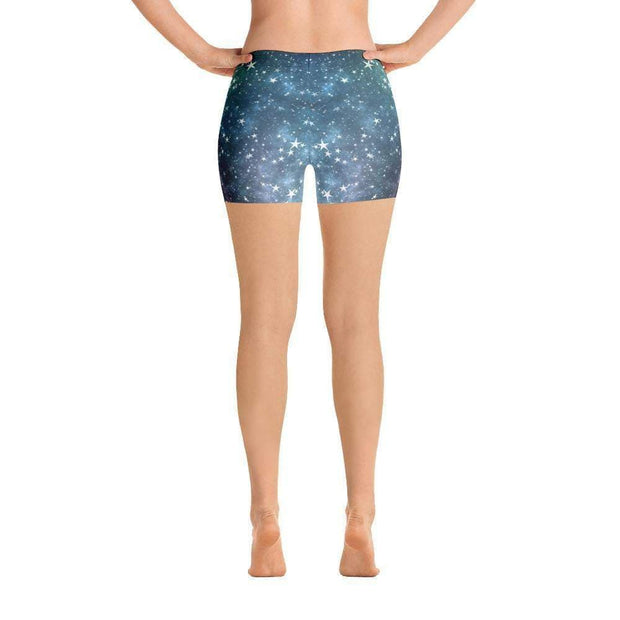 Space Stars Sports Shorts | Submission Shark Back