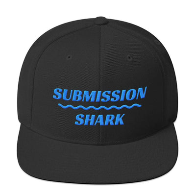 Aqua Truth | Snapback Hat - Submission Shark