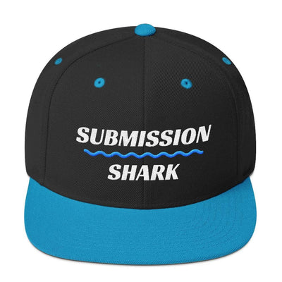 Blue/Aqua Superior Standard | Classic Snapback Hat | Submission Shark