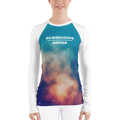 Women's BJJ Rash Guard (Stardust Love)
