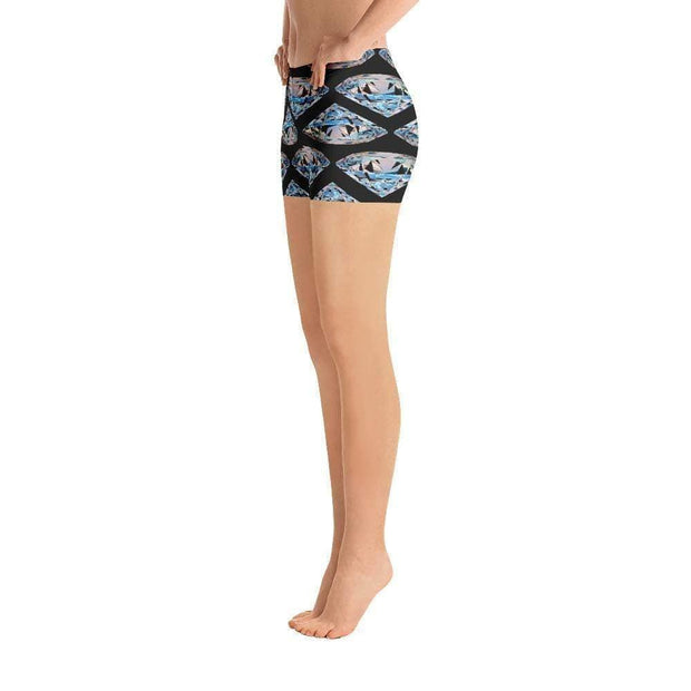 Diamonds Last Forever Sports Shorts | Submission Shark Left