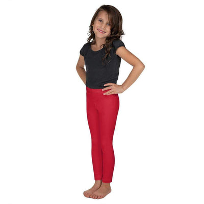 Red SS Premium Standard | Kid's Leggings | Submission Shark - tamlifestyle