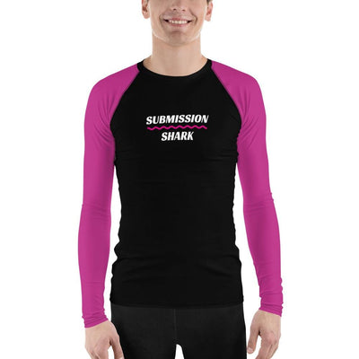 Pink SS Premium Standard ~ Men's BJJ Rash Guard