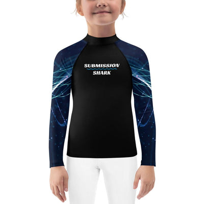 String Theory ~ Kids BJJ Rash Guard