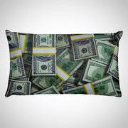 Oil Money 3D Rectangular Pillow