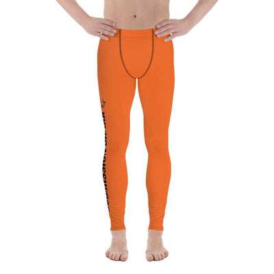 Orange SS Premium Standard | Men's Compression Spats | Submission Shark - tamlifestyle