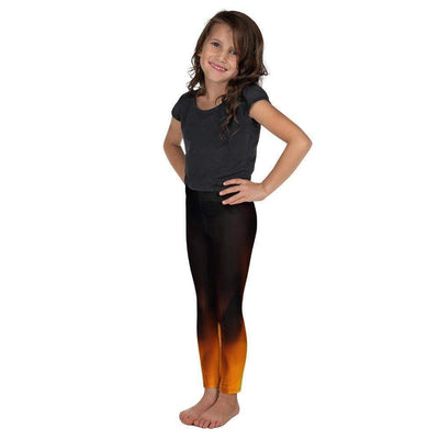 Fiery Hot Kid's Leggings | Submission Shark - tamlifestyle