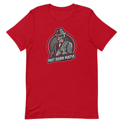 Mat Burn Mafia ~ Red BJJ T-Shirt