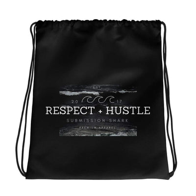 Respect + Hustle Drawstring Gi Bag - Submission Shark