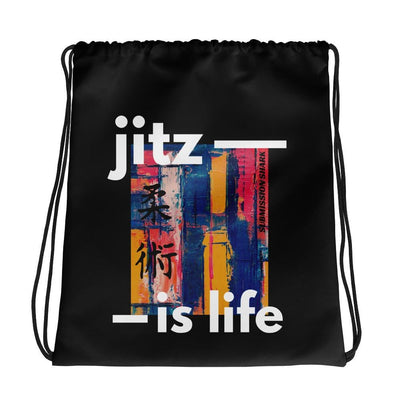 Jits Is Life | Drawstring bag | Submission Shark
