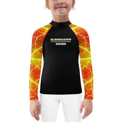 Kids BJJ Rash Guard (Phoenix Arise)