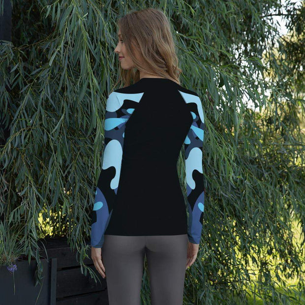 Ranked 1.0 Women's Compression Shirt | Submission Shark Rashguard Back