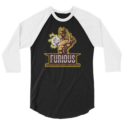 Furious Fighter - 3/4 sleeve raglan shirt