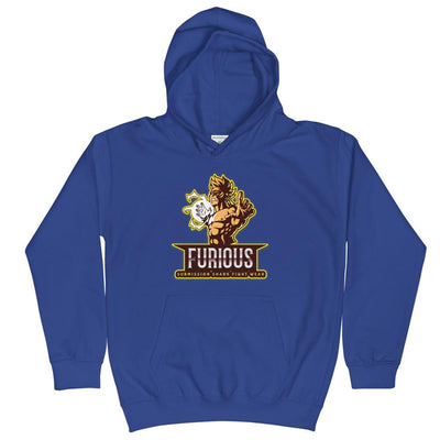 Furious Fighter - Kids Martial Arts Hoodie
