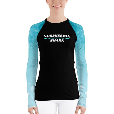 Shop Submission Shark Frost Fight ~ Women's BJJ Rash Guard