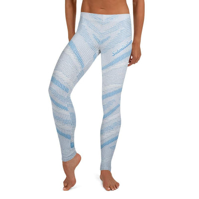 Arctic Air ~ Full Guard BJJ Leggings