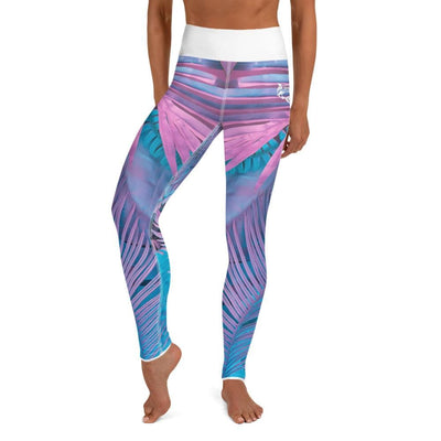 High-Waist BJJ Leggings (Cotton Candy Crush)