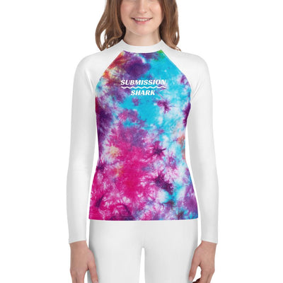 Tye Dye - Youth MMA Rash Guard