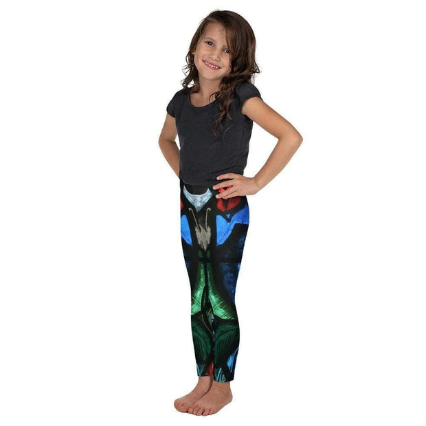 Spiritual Awakening Kid's Leggings | Submission Shark Left