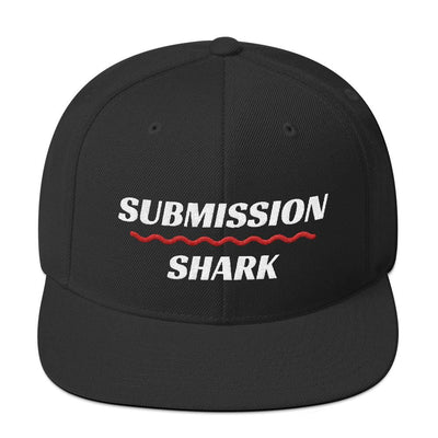 Red Superior Standard | Snapback Hat - Submission Shark