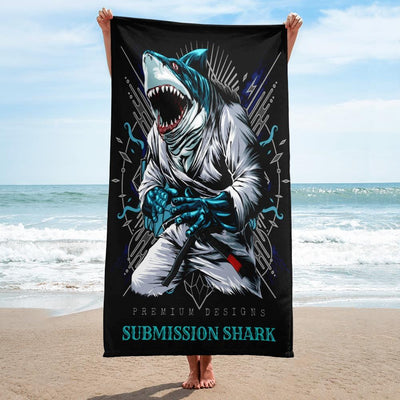 Shark Frenzy Towel - tamlifestyle