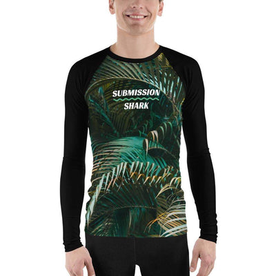 Emerald Paradise ~ Men's BJJ Rash Guard