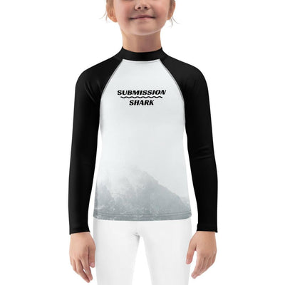 Kids BJJ Rash Guard (Mountain Mystery)