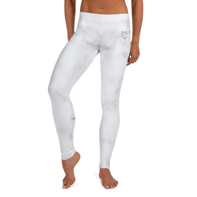 Full Guard BJJ Leggings (Ivory Marble)