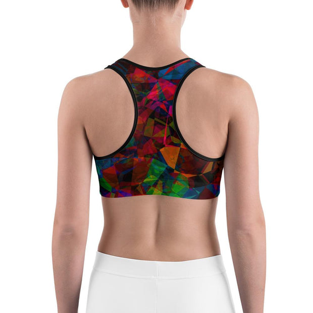 Different Dimensions Sports bra | Submission Shark Back