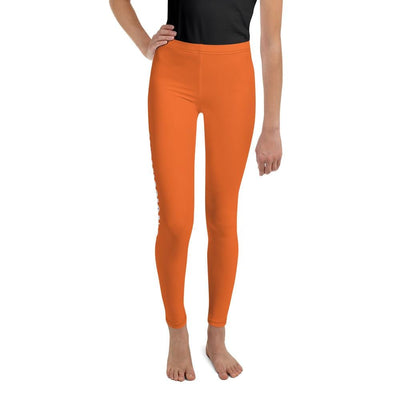 Orange SS Premium Standard ~ Youth Leggings