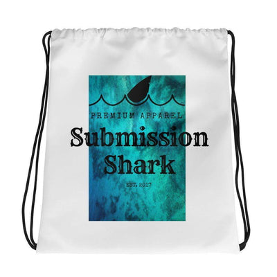 Submission Shark's Ocean Dive Drawstring Gi bag - tamlifestyle