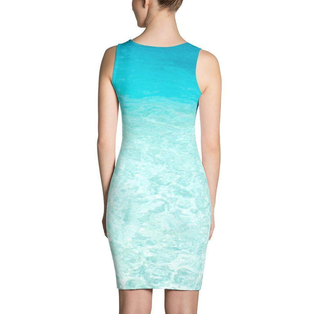 Ocean Paradise Sublimation Cut & Sew Dress