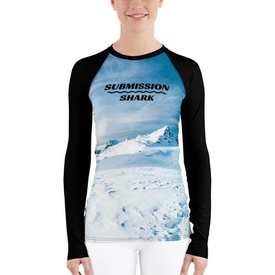 Tundra Avalanche ~ Women's BJJ Rash Guard