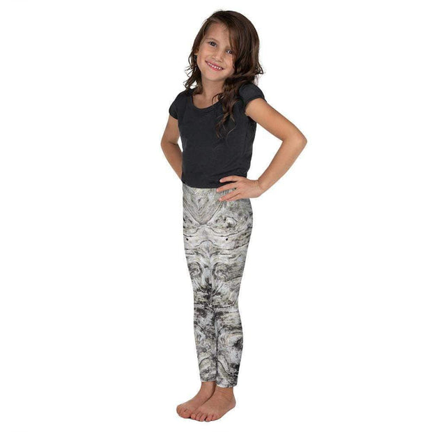 Volcanic Ashes Kid's Leggings | Submission Shark Left