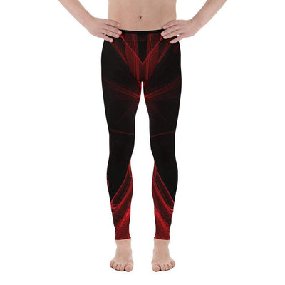 Calm Blaze | Men's Leggings | Submission Shark - tamlifestyle
