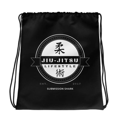 Jiu-Jitsu Lifestyle | Drawstring Gi bag | Submission Shark