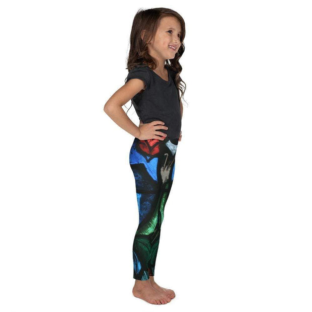 Spiritual Awakening Kid's Leggings | Submission Shark Right