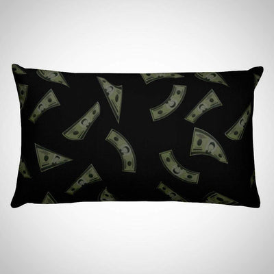 Oil Money Falling Money Rectangular Pillow