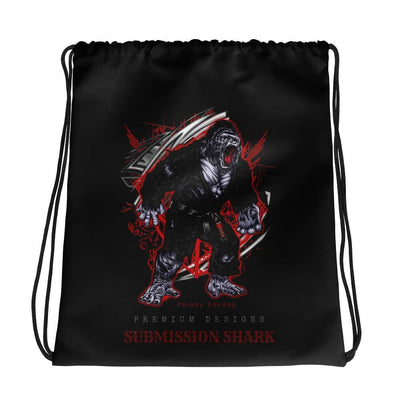 Primal Savage | Drawstring Jiu-Jitsu Gorilla bag | Submission Shark