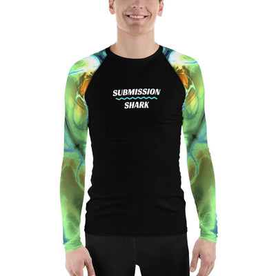 Shop Men's BJJ Rash Guard (Liquid Trip)