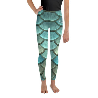 Mermaid Maiden - Youth BJJ Leggings
