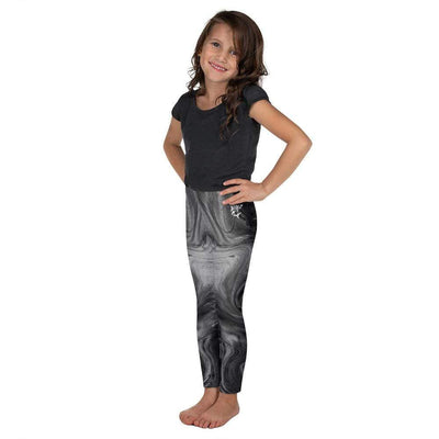 Monochrome Madness Kid's Black Leggings