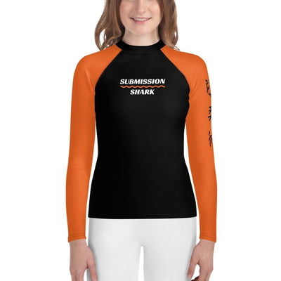 Orange SS Premium Standard - Youth Rash Guard