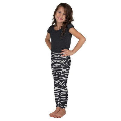 White Noise Kid's Leggings | Submission Shark - tamlifestyle