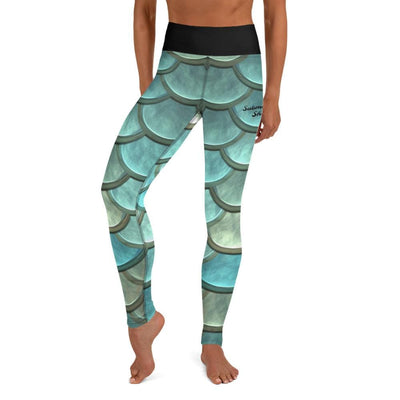 Shop High-Waist BJJ Leggings (Mermaid Maiden)