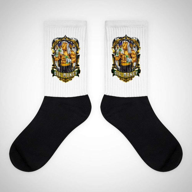 Oil Money Socks