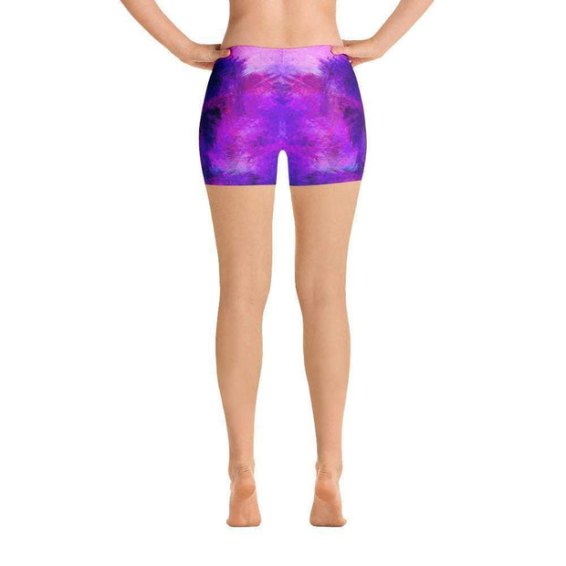 Violet Psionic Sports Shorts | Submission Shark - tamlifestyle