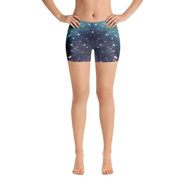 Space Stars | Galaxy Sports Shorts | Submission Shark - tamlifestyle